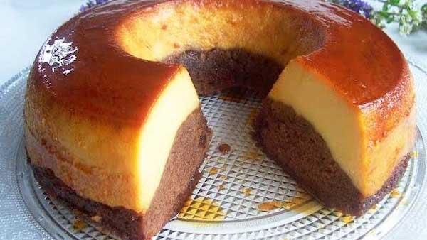 Recette Gâteau de Semoule au Caramel