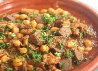Recette Bakbouka (Tripes de Mouton en Sauce)