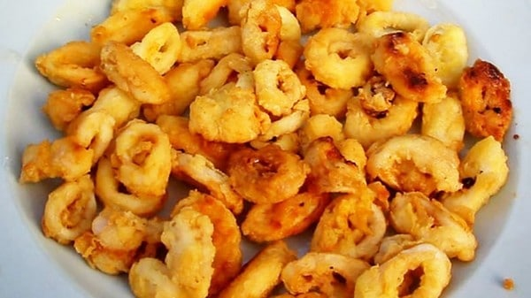 Recette Calamars Frits