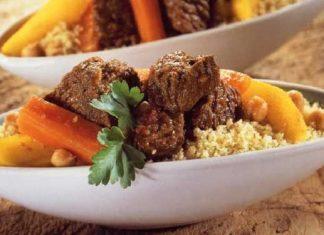 Recette Couscous au Jarret de Veau et aux Légumes