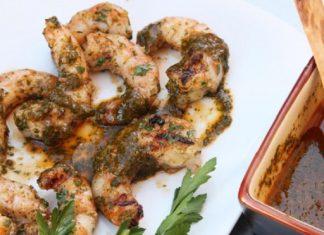 Recette Crevettes Grillées à la Chermoula