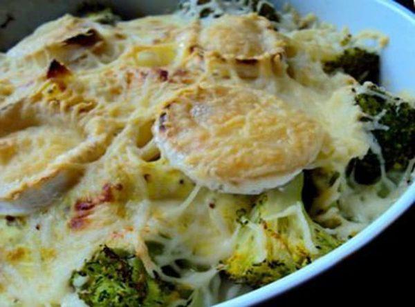 Recette Gratin de Pâtes au Brocoli et Chèvre