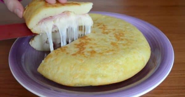 Recette Omelette de Patate à l'Italienne