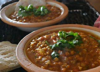 Recette Lentilles au Bœuf à La Marocaine