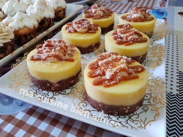 Recette Minis Cakes au Flan
