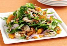 Recette Salade de Patates Douces au Poulet