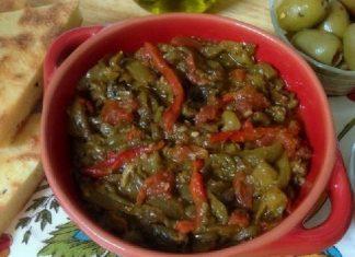 Recette Salade de Tomates et Poivrons Grillés