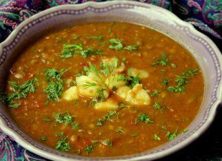 Recette Soupe au Lentilles