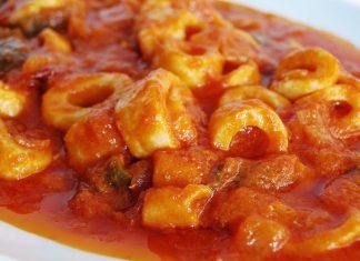 Salade de Calamars aux Raisins Secs