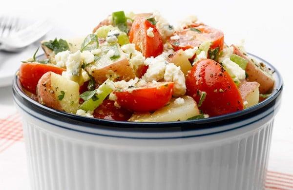 Salade de Pommes de Terre et Tomates