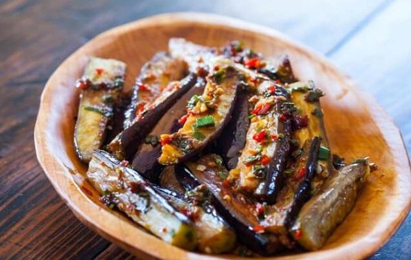 Recette Aubergines Frites aux Épices