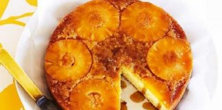 Recette Gâteau de Riz aux Pommes et Ananas