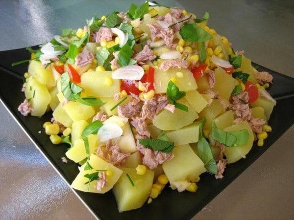 Recette Salade de Légumes et de Thon