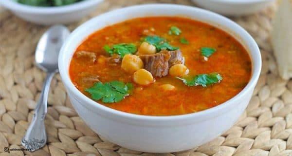 Recette Soupe Tunisienne (Chorba)
