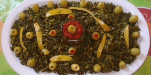 Recette tunisienne de la salade de mauve ou Khobbiza