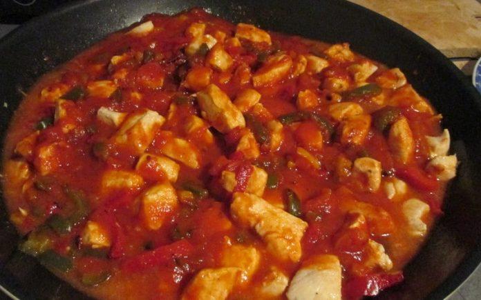 Recette Accompagnement Escalope Poivron avec Sauce