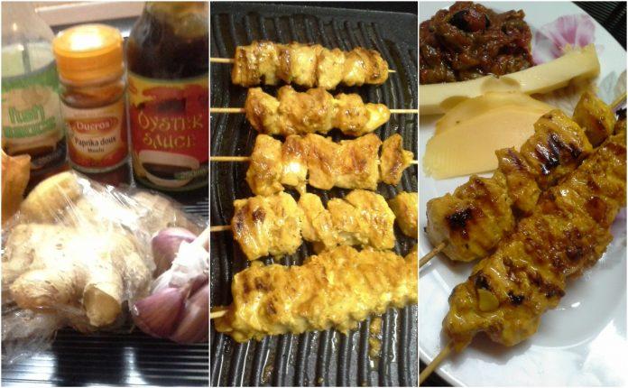 Recette Brochettes de Poulet Saveurs Asiatique