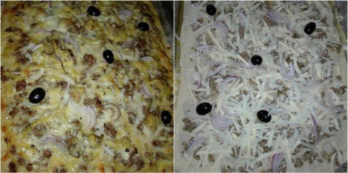 Recette Pizza ( Recyclée)