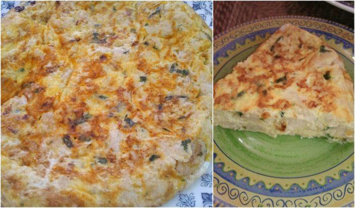 Recette Tortilla au Chou-Fleur