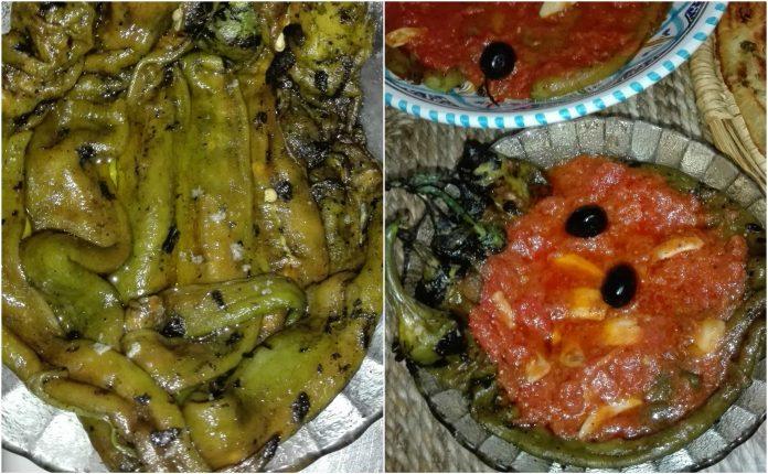 Recette Salade Poivrons et Piments Grillés à la Tomate