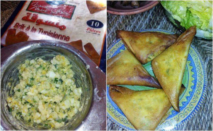 Recette Samosas à la Pomme de Terre et Fromage