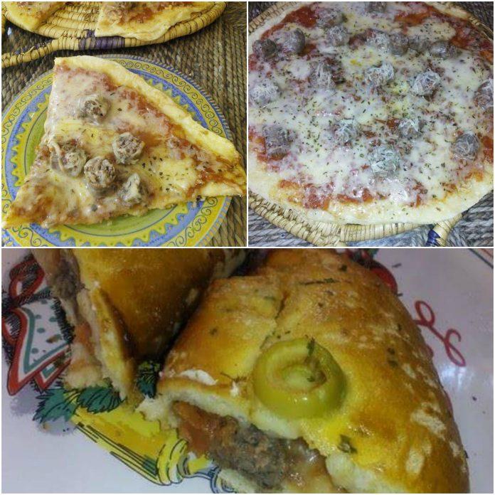 Recette Soufflés et Pizza Tajine