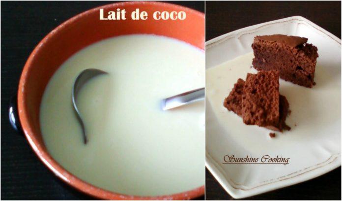 Recette Soupe au Chocolat Blanc et Lait de Coco