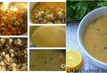 Recette Soupe de Crevettes et de Légumes