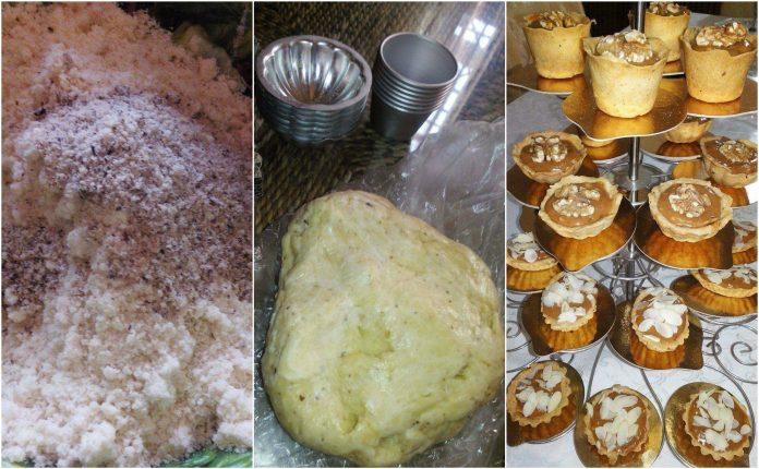 Recette Tartelettes au Nestlé Caramel et Noix