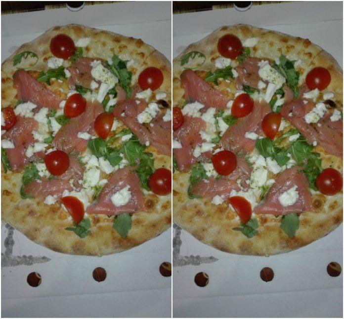 Recette la Pizza au Saumon et à la Ricotta
