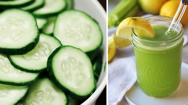 smoothie concombre régime
